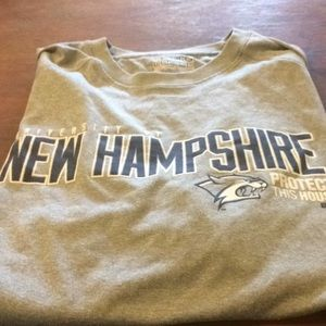 University of New Hampshire dry fit tee
